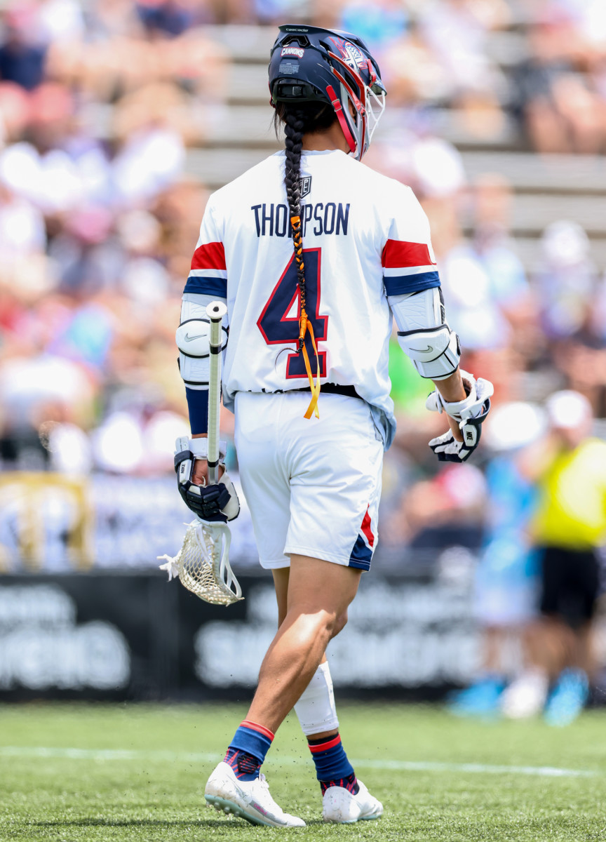 Thompson, the 2019 Major League Lacrosse MVP,is doing his best to create transparency about Canada's past.
