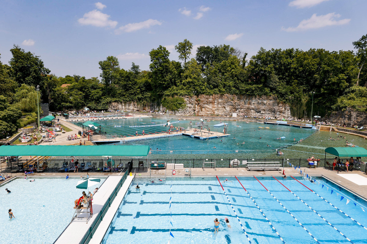 Lakeside Swim Club in Louisville, Ky., has produced a number of Olympians—and no shortage of summer fun.