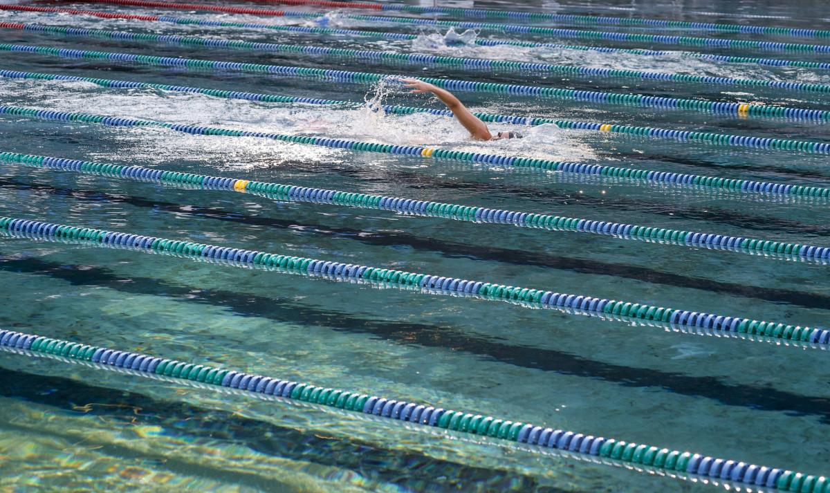 The Lakeside SeaHawks are the club's top swim team.