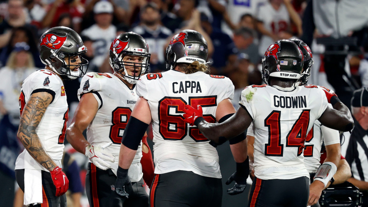 Alex Cappa and Co. had a very good night against the Cowboys, but will need to carry that over against the Falcons.