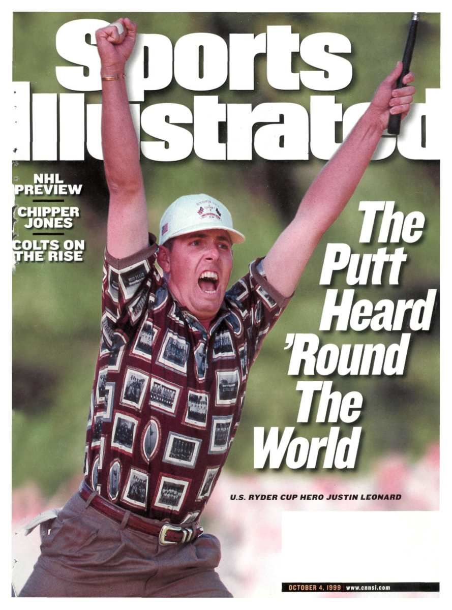 Justin Leonard's putt on the 17th on Sunday in 1999 helped rally the U.S. to victory.
