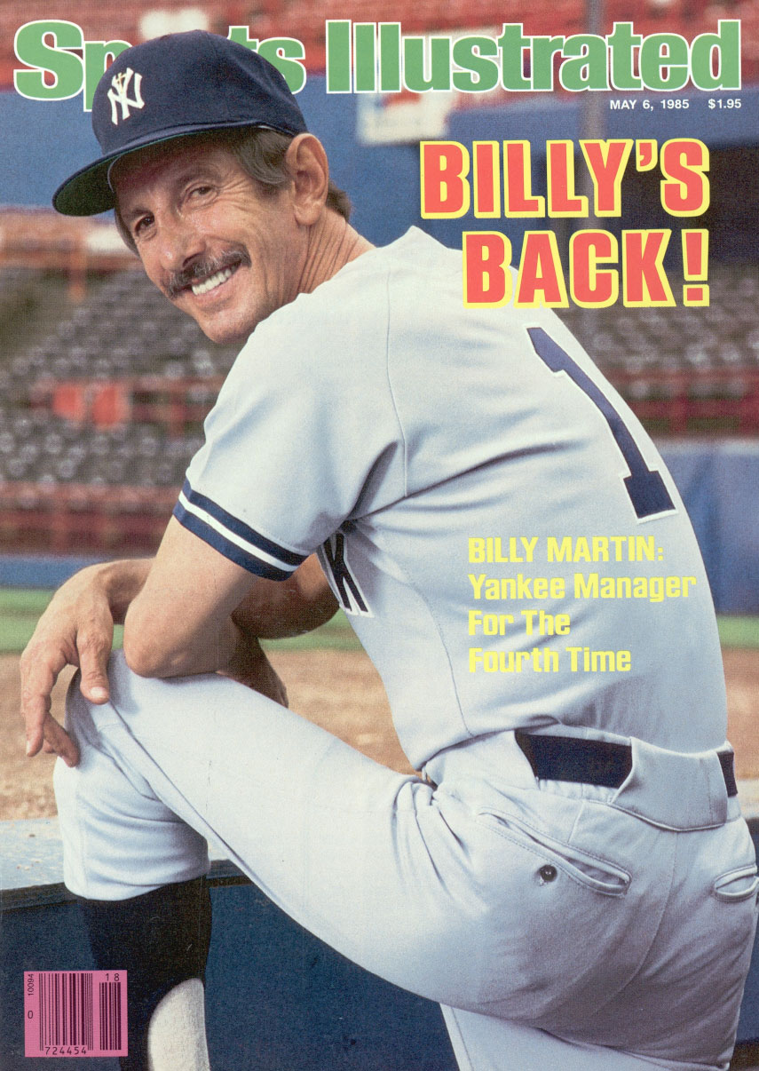 767623d25 Billy's Biggest Brawl: Fiery Yankees skipper Billy Martin's fight with his  own pitcher was one for the ages | Longform - SI.com