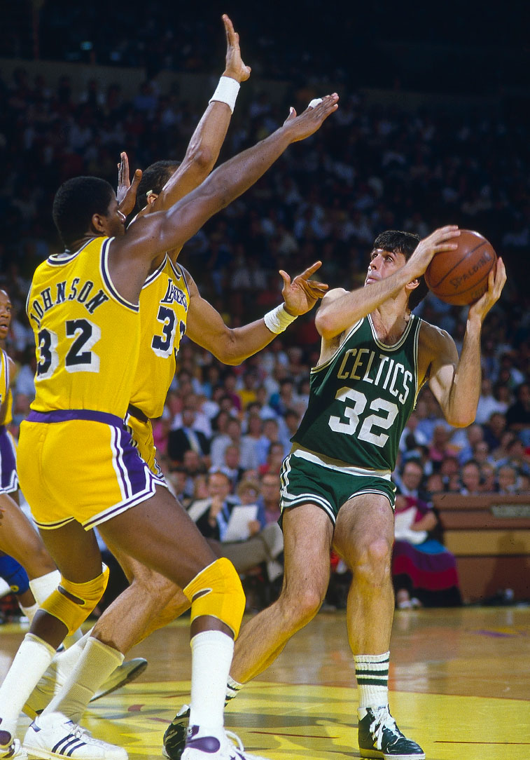When L.A. Buried the Garden Ghost: How Magic, Kareem and the Lakers finally beat Bird's Celtics ...