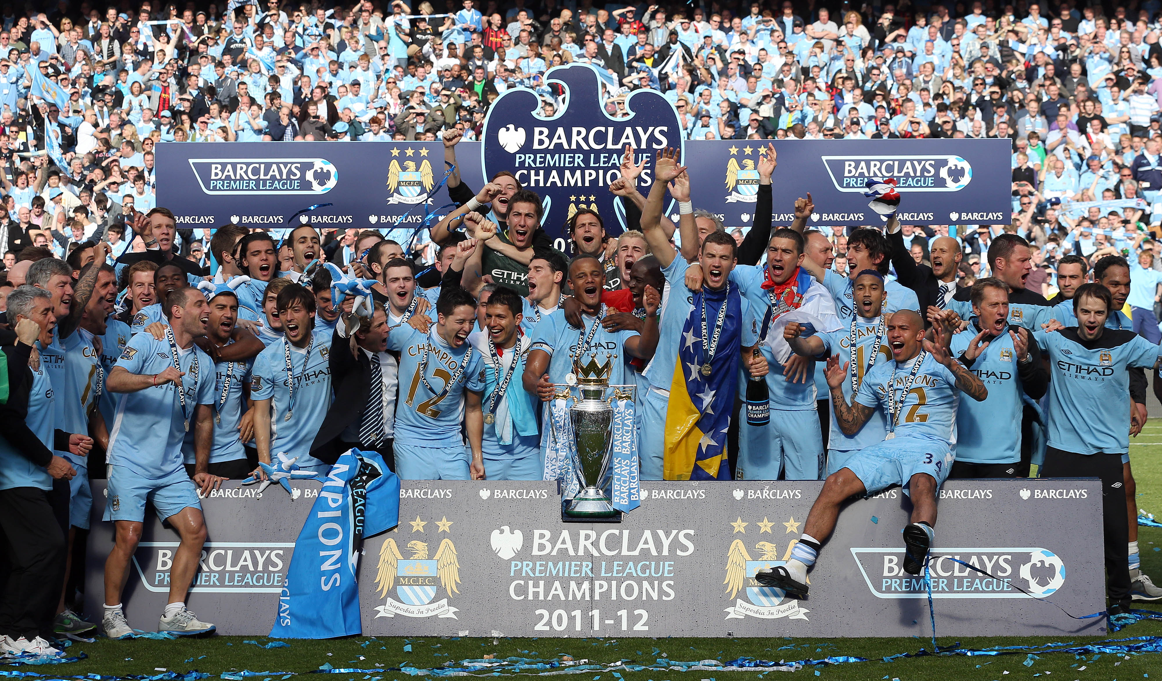 Man City: Manchester City's 2012 Premier League Title: Epic Finish