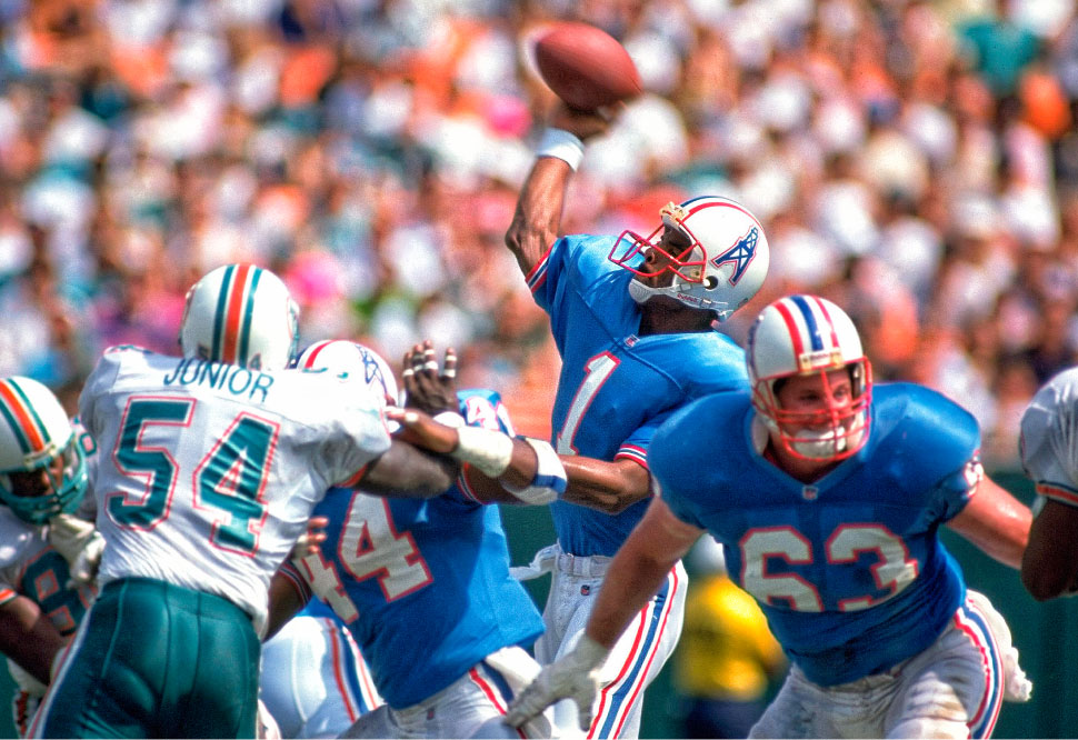 WARREN MOON Lukewarm NFL interest drove him to the CFL out of college 24e2ad0c5