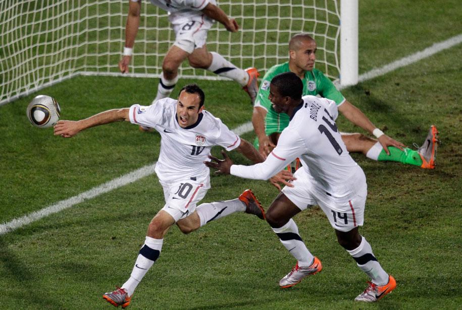 Image result for landon donovan goal algeria