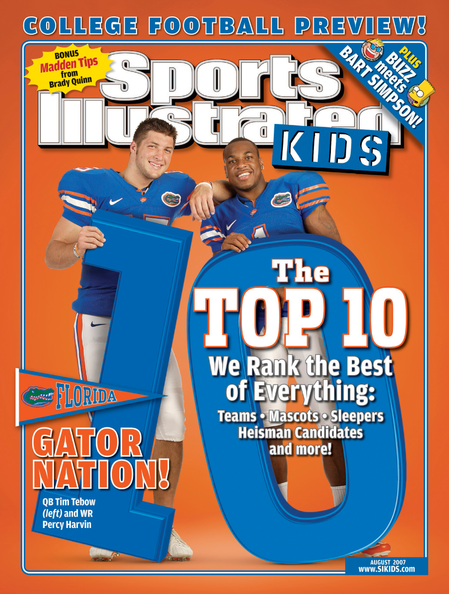 Sports Illustrated Cover Book ~ The book of tebow longform si