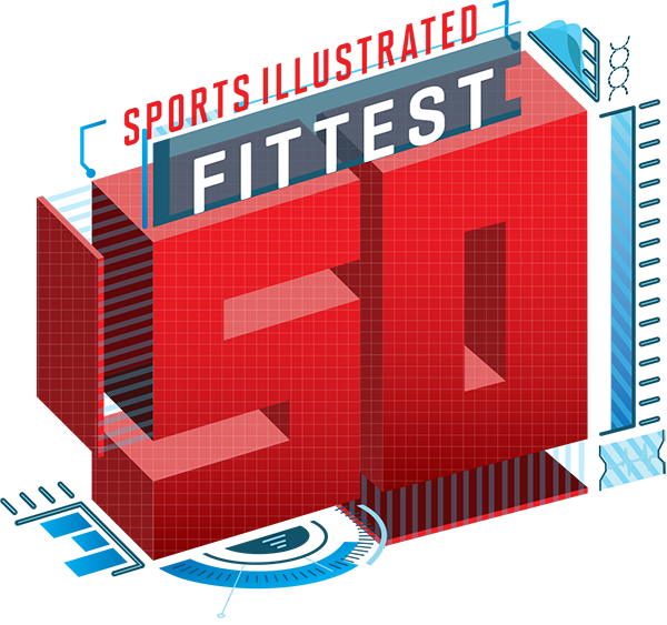 Sports Illustrated's Fittest 50 - cover