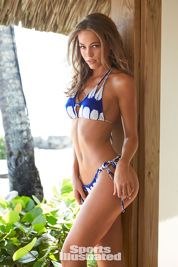 All business. Bikini illustrated model sports magnificent